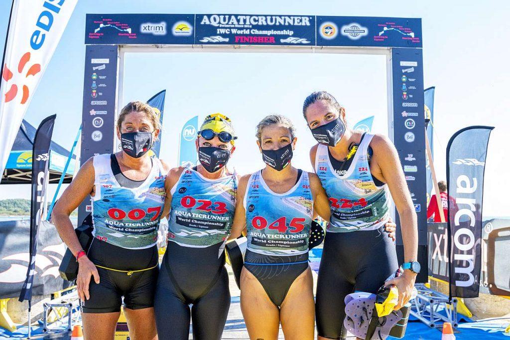 Aquaticrunner 2021: il podio femminile (Foto Roberto Del Bianco)