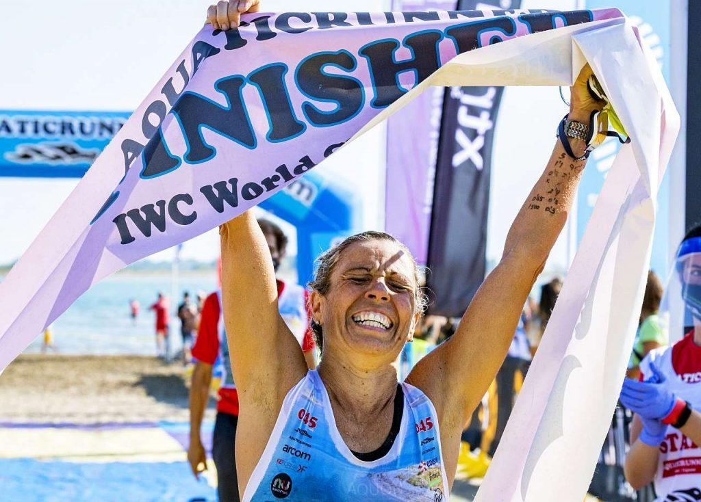 Dacil Hernandez vince l'Aquaticrunner 2021 (Foto Roberto Del Bianco)