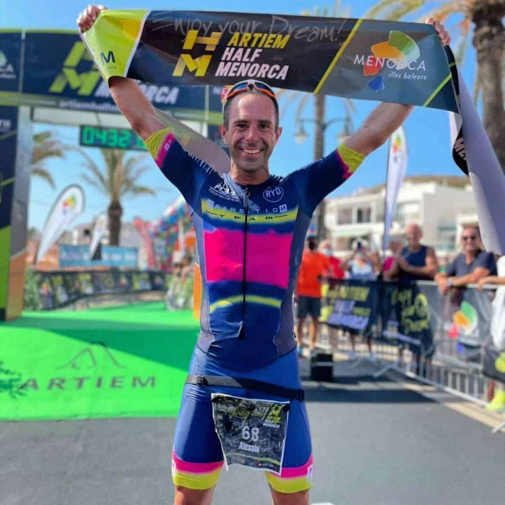Alessio Morellato è il più veloce nell'Artiem Half Menorca di domenica 19 settembre 2021