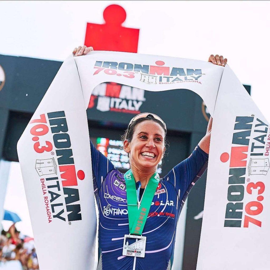 Il trionfo di Valentina d'Angeli nell'Ironman 70.3 Italy Emilia Romagna del 19 settembre 2021