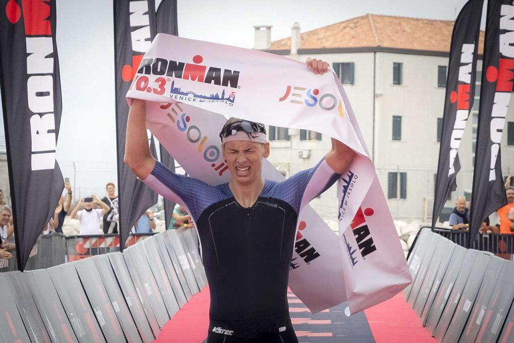 Ironman 70.3 Jesolo 2021 vincitore