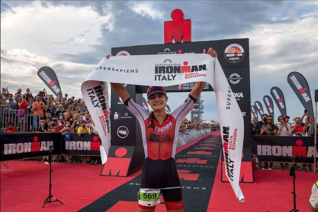 Fabia Maramotti domina l'Ironman Italy Emilia Romagna di sabato 18 settembre 2021 (Foto: Ironman Italy)