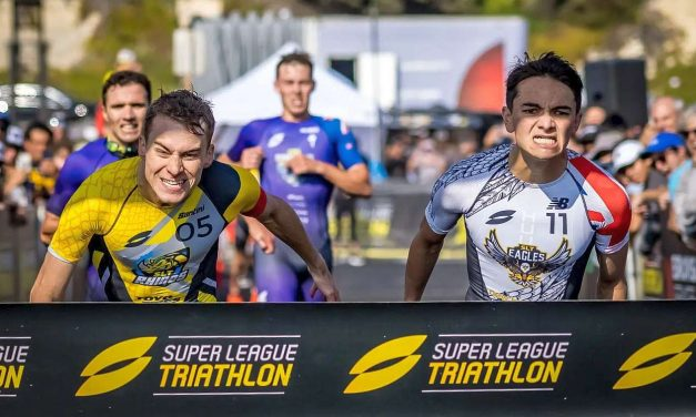 Georgia Taylor-Brown e Alex Yee trionfano nella Super League Triathlon Championship Series dopo l'ultima incredibile tappa di Malibu!