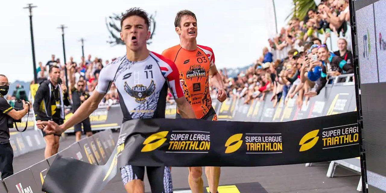 Jessica Learmonth e Alex Yee firmano la Super League Triathlon Championship Series Jersey, sabato 25 settembre la finale a Malibu con altre 4 grandi star!