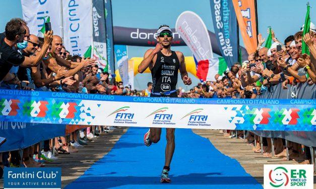 A Cervia, Alice Betto e Michele Sarzilla si laureano campioni italiani di triathlon sprint!