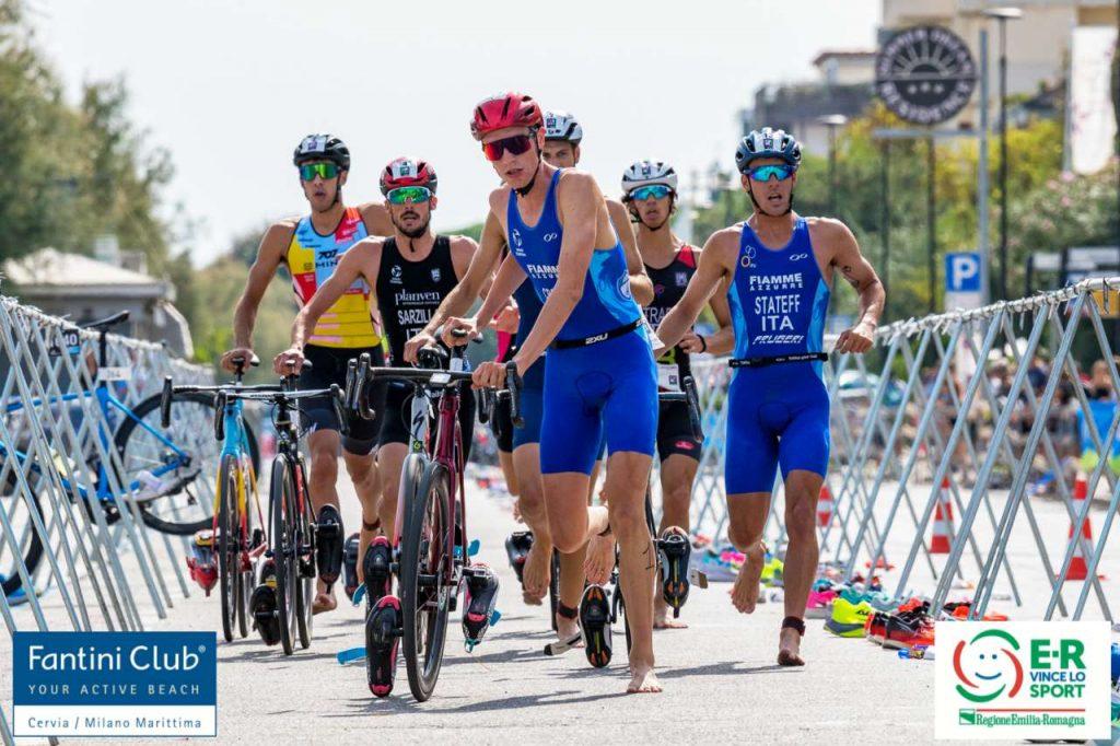 Campionati Italiani triathlon sprint Cervia 2021 (Foto: Roberto Del Bianco / Flipper Triathlon)