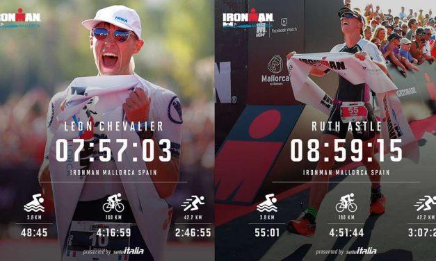 Astle e Chevalier all'Ironman Mallorca, tutti i risultati, il video racconto