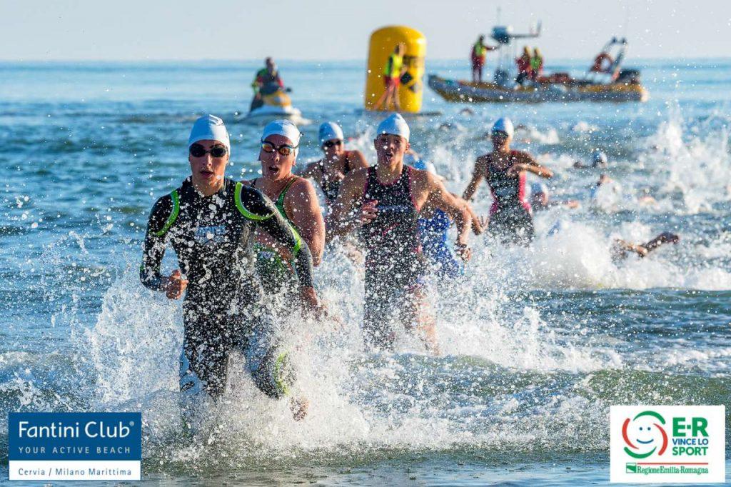 Campionati Italiani di Triathlon a Staffetta 2+2, Cervia, 3 ottobre 2021